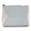 Cosmetic Pouch metallic white
